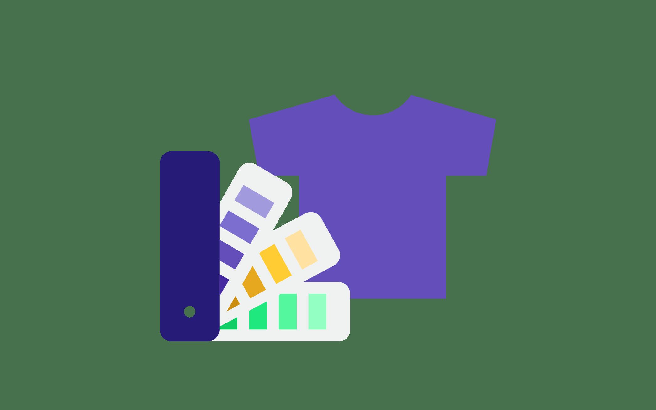 Farben für MBA-Shirts