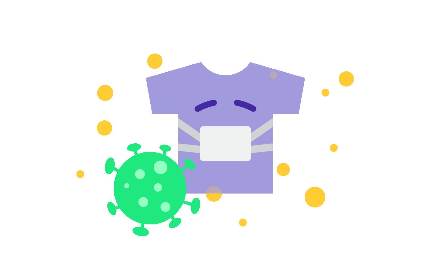 Shirt-Business trotz Krise